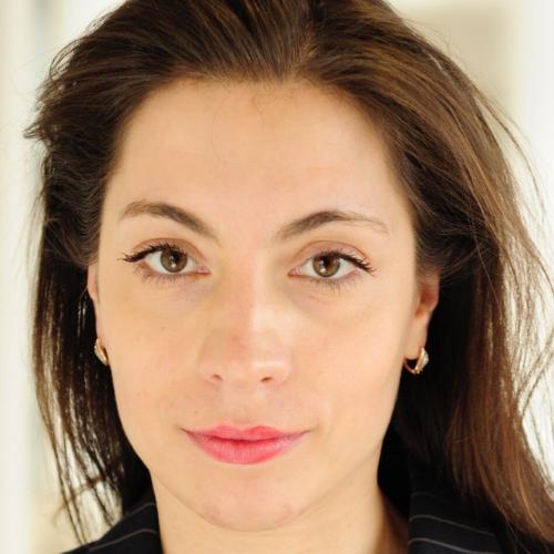 Elena Kholodova smiles at the camera